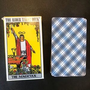 The RiderTarot Deck, guidebook not included